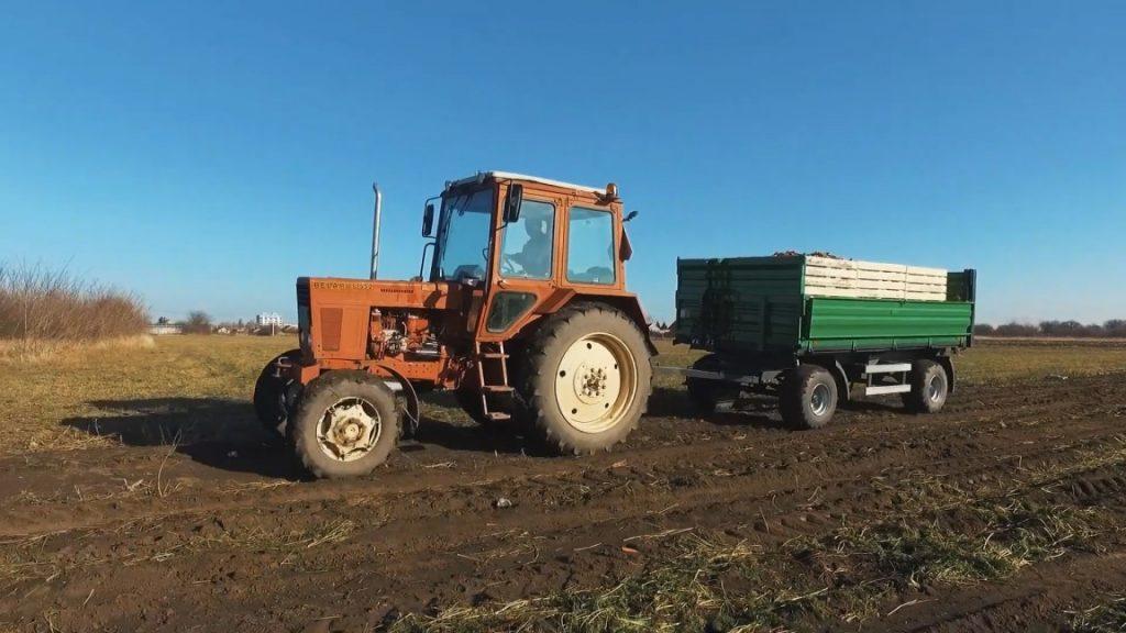Traktor povrće šargarepa